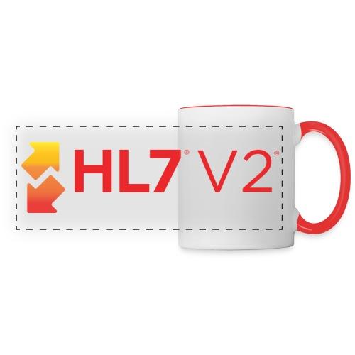 HL7 Version 2 Logo - Panoramic Mug