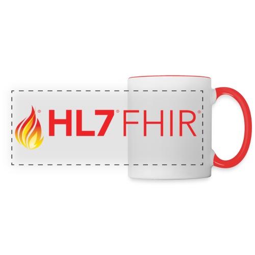 HL7 FHIR Logo - Panoramic Mug