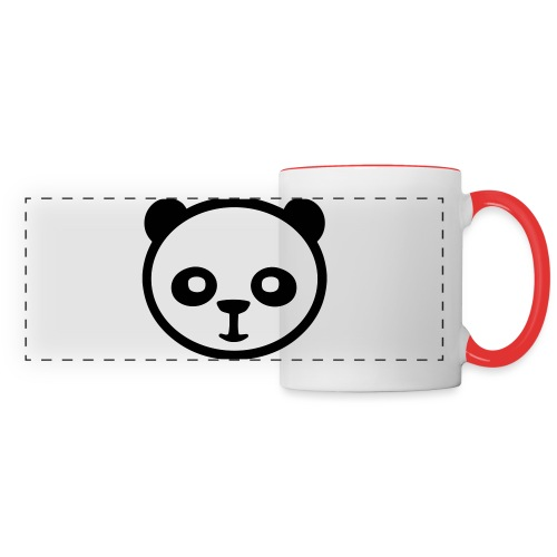 Panda bear, Big panda, Giant panda, Bamboo bear - Panoramic Mug