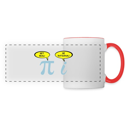 Get real Be rational - Panoramic Mug