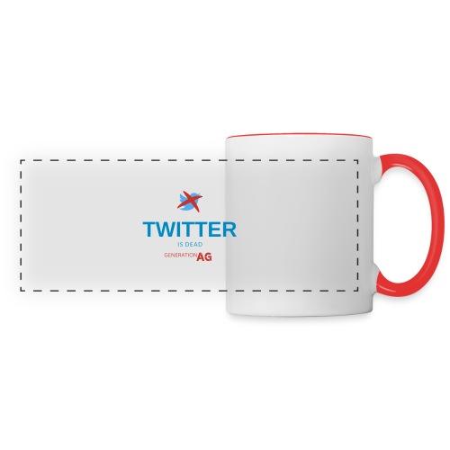 Twitter is dead - Panoramic Mug