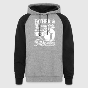 FATHER AND DAUGHTER SHIRT - Colorblock Hoodie