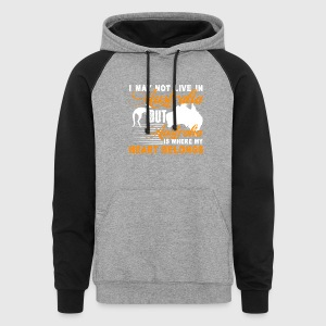 AUSTRALIA IS WHERE MY HEART BELONGS SHIRT - Colorblock Hoodie