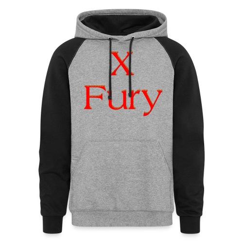 X Fury - Unisex Colorblock Hoodie