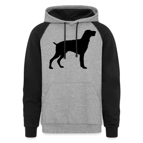 German Wirehaired Pointer - Colorblock Hoodie