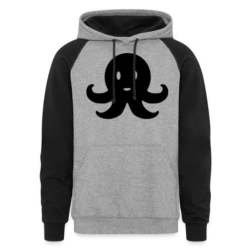 Cute Octopus - Unisex Colorblock Hoodie