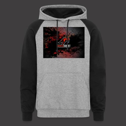RedOpz Splatter - Colorblock Hoodie