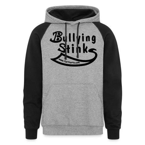Bullying Stinks! - Unisex Colorblock Hoodie