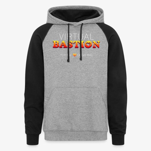 Virtual Bastion: For the Love of Gaming - Unisex Colorblock Hoodie