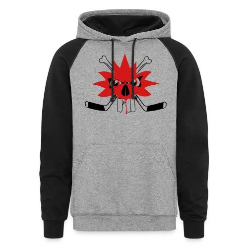 Canadian-Punishment_t-shi - Unisex Colorblock Hoodie