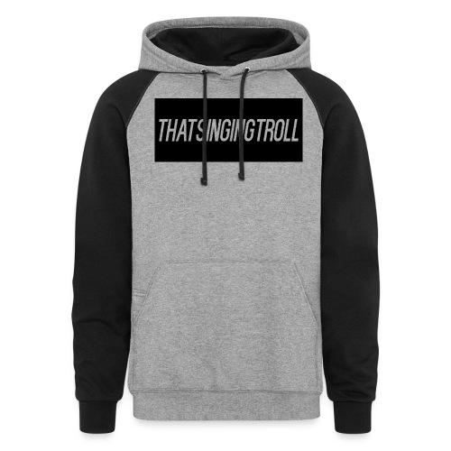 1ST Shirt - Colorblock Hoodie