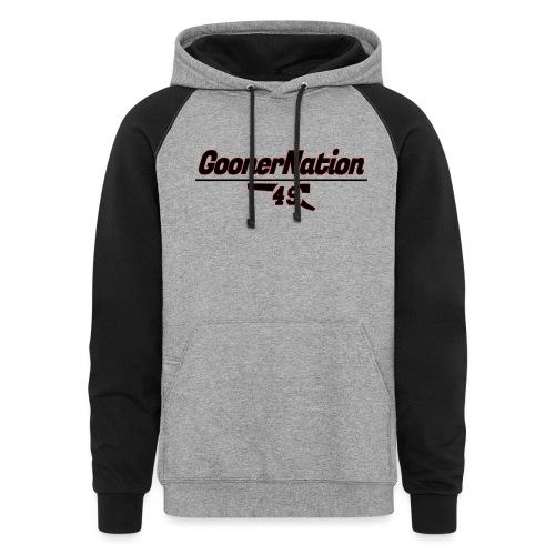 GoonerNationSpreadshirt - Colorblock Hoodie