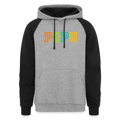 P2PU RGB-01 Solid - Colorblock Hoodie