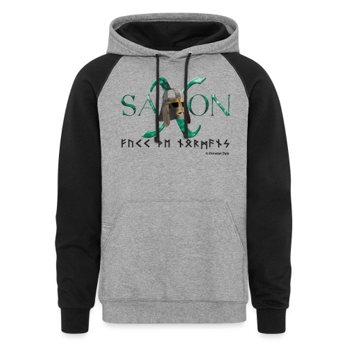 Saxon Pride - Unisex Colorblock Hoodie