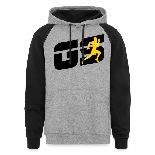 sleeve gs - Colorblock Hoodie