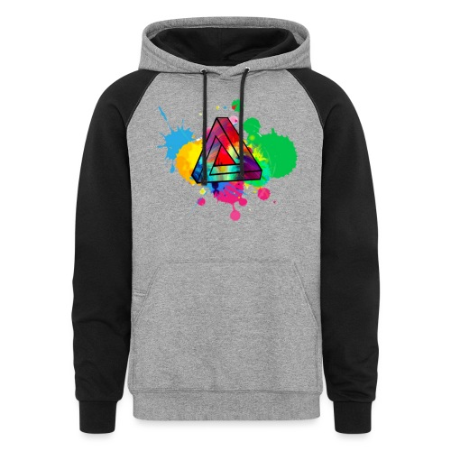 PAINT SPLASH - Colorblock Hoodie