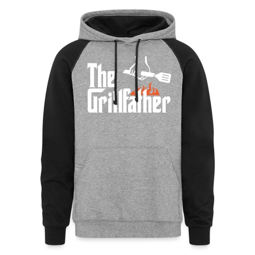The Grillfather - Colorblock Hoodie