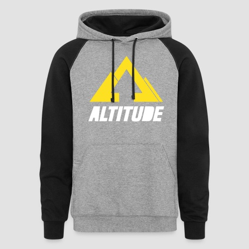 Empire Collection - Yellow - Unisex Colorblock Hoodie