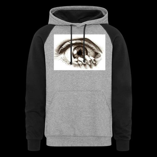 eye breaker - Colorblock Hoodie