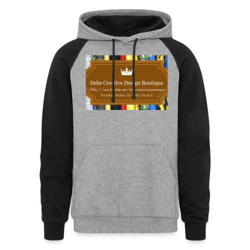 Debs Creative Design Boutique with site - Colorblock Hoodie