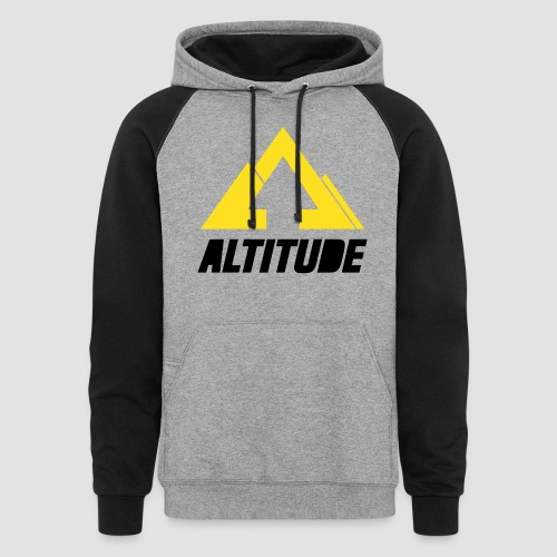 Empire Collection - Yellow 2 - Unisex Colorblock Hoodie