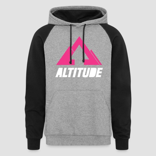 Empire Collection - Pink - Unisex Colorblock Hoodie