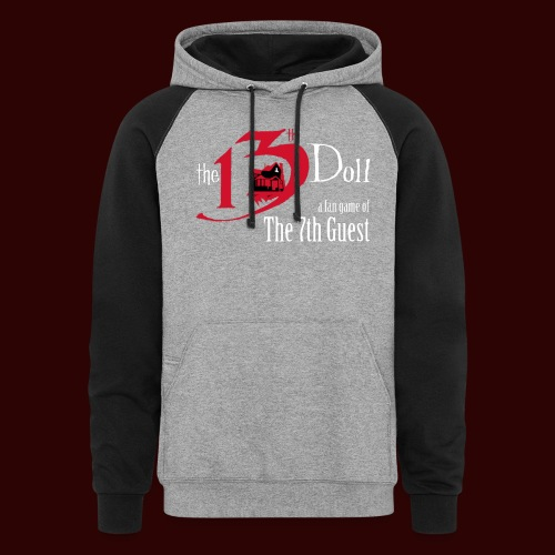 The 13th Doll Logo - Colorblock Hoodie