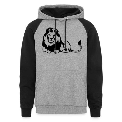 lions - Unisex Colorblock Hoodie