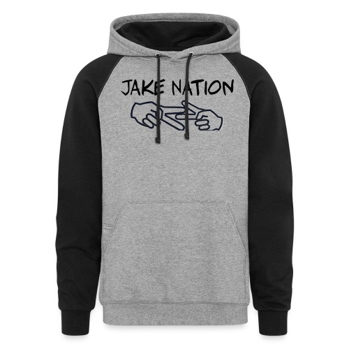 Jake nation phone cases - Colorblock Hoodie