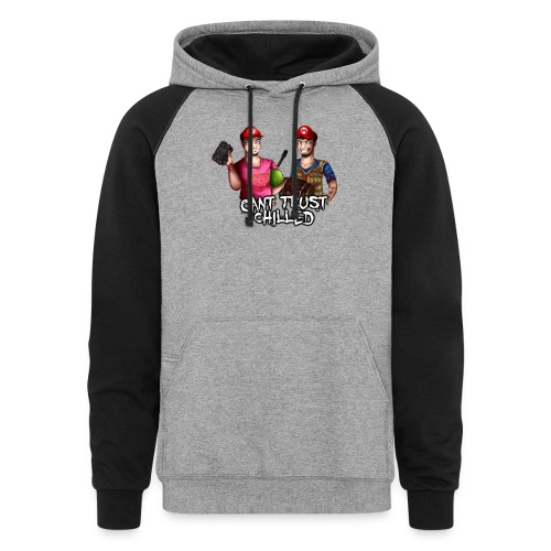 Can't Trust Chilled - Colorblock Hoodie