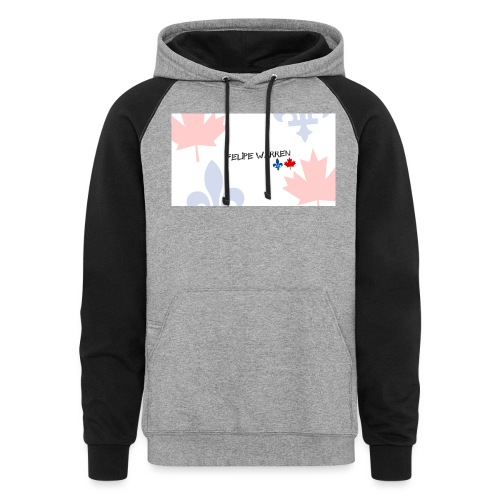 Logo do Canal - Colorblock Hoodie