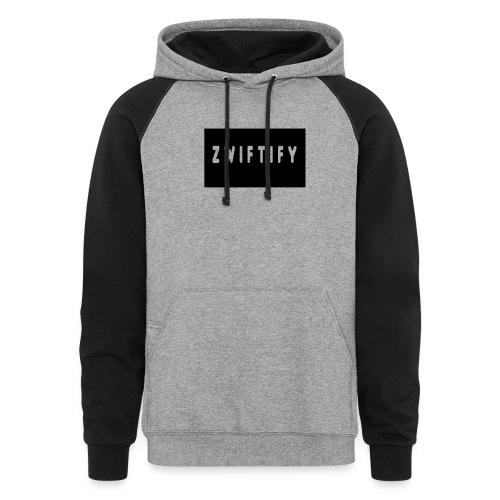 zwiftify - Colorblock Hoodie