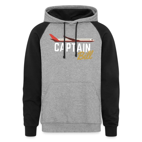 Captain Bill Avaition products - Unisex Colorblock Hoodie