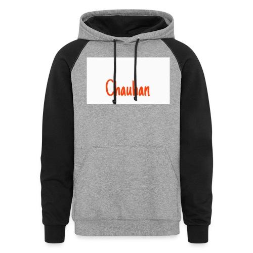 Chauhan - Unisex Colorblock Hoodie