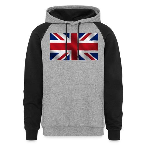British Flag - Colorblock Hoodie