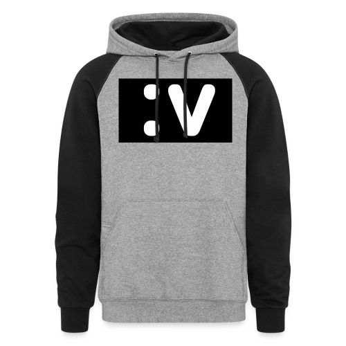 LBV side face Merch - Colorblock Hoodie