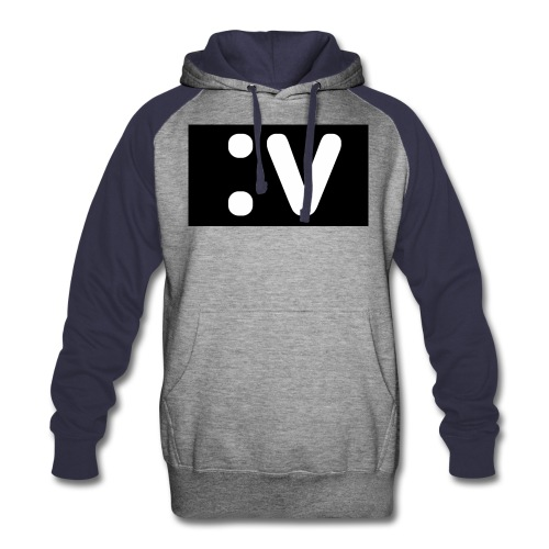 LBV side face Merch - Colorblock Hoodie
