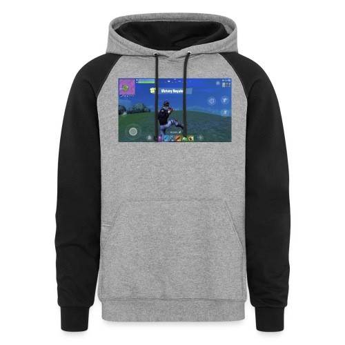 My First Win! - Colorblock Hoodie