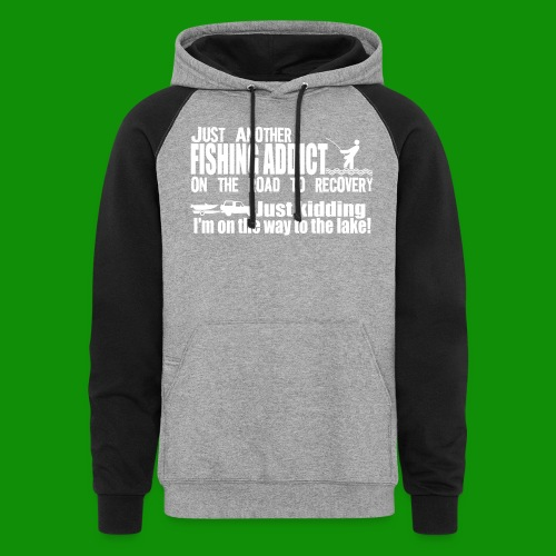 FISHING ADDICT - Unisex Colorblock Hoodie