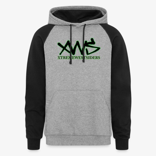 XWS Logo - Unisex Colorblock Hoodie