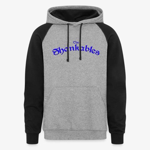 The Shankables Logo - Unisex Colorblock Hoodie