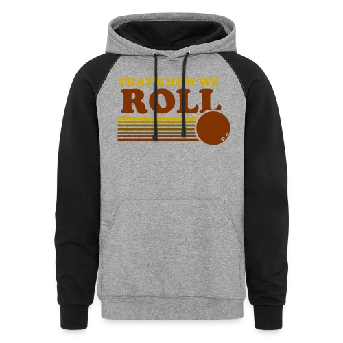 we_roll - Colorblock Hoodie