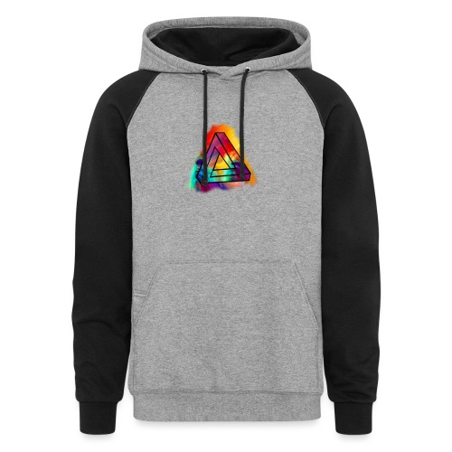 PAINT SPLASH LOGO - Colorblock Hoodie