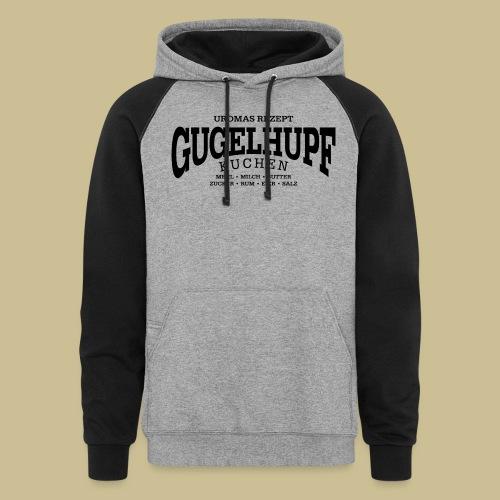 Gugelhupf (black) - Unisex Colorblock Hoodie