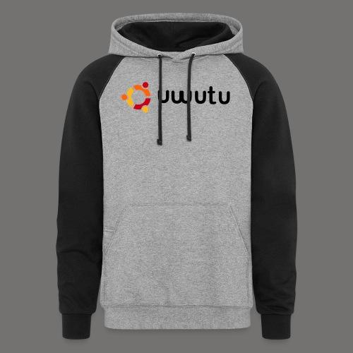UWUTU - Colorblock Hoodie