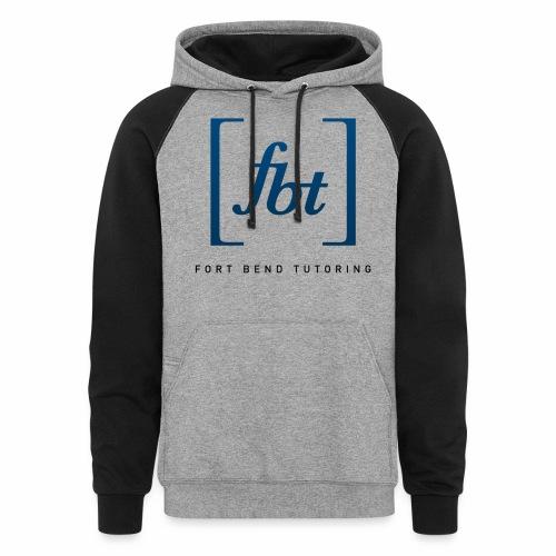 Fort Bend Tutoring Logo [fbt] - Colorblock Hoodie