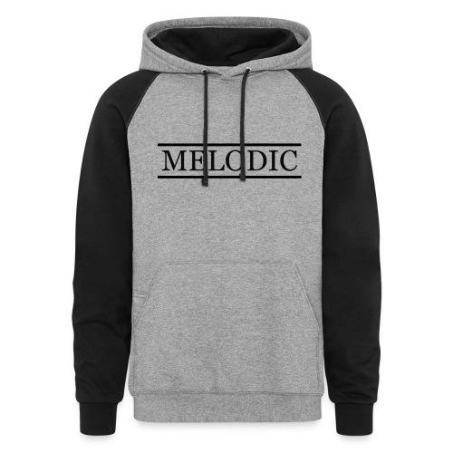 Melodic - Unisex Colorblock Hoodie