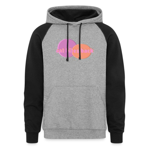 Cat Bites Back - Colorblock Hoodie