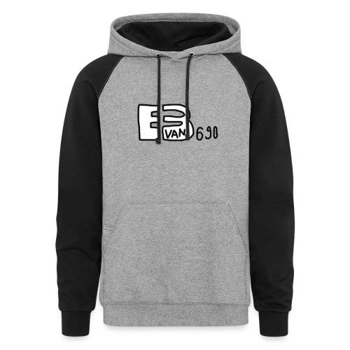 Evan3690 Logo - Colorblock Hoodie