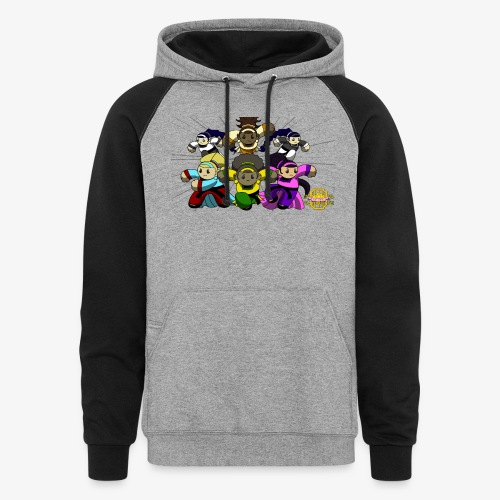 The Guardians of the Cloudgate w/ Logo - Colorblock Hoodie